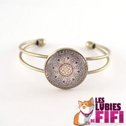 Bracelet mandala : oriental mandal n°05
