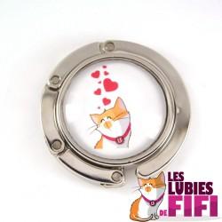 Accroche sac chat : les lubies de fifi