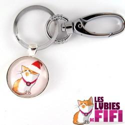 Porte-clé chat : les lubies de fifi de Noël