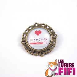 Broche : love in progress