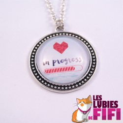Collier : love in progress