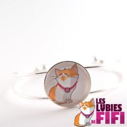 Bracelet chat : les lubies de fifi