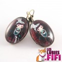 Boucles d'oreille : Miss Cupcake by Poupidipoupi