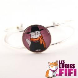 Bracelet chat : Mrou le chat Potter
