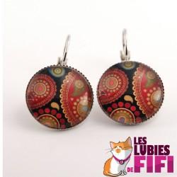 Boucles d'oreille hindou : hindou paisley 1.5.1