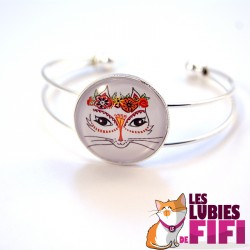 Bracelet chat : la mexicaine