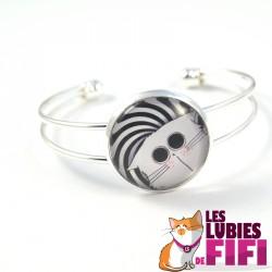 Bracelet chat : Mrou le chat Hypnose