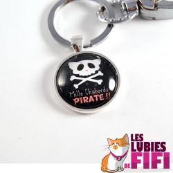 Porte-clé chat : Mille chabords
