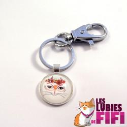 Porte-clé chat : la mexicaine