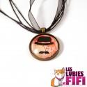 Collier : Monsieur Moustache