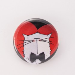 Badge collection chat : mrou amoureux n°05