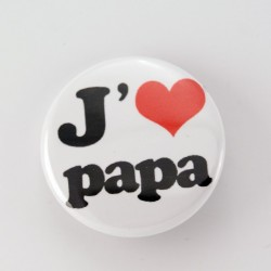 Badge collection papa : papa chéri