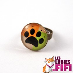 Bague chat : Mrou le chat Potter