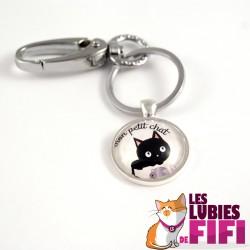 Porte-clé chat : mon petit chat