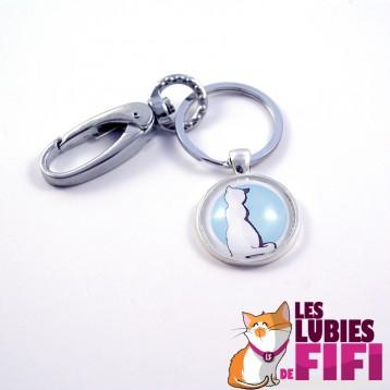 Porte-clé chat : Michat le chat