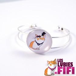 Bracelet chat : Fifi la Mistinguette