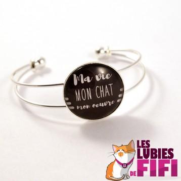 Bracelet chat : Ma vie, mon oeuvre