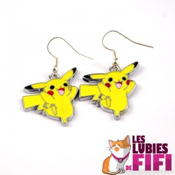 Boucles d'oreille Pokemon : Evoli