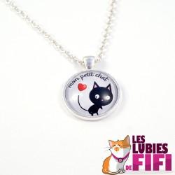 Collier chat : mon petit chat