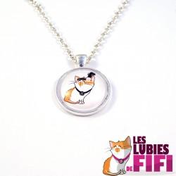 Collier chat : Fifi la Mistinguette