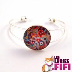 Bracelet mandala : oriental mandal n°08