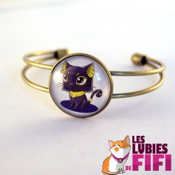 Bracelet chat : Michat le chat