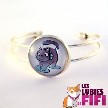 Bracelet chat : Michat le chat