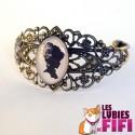Bracelet vintage : femme vintage