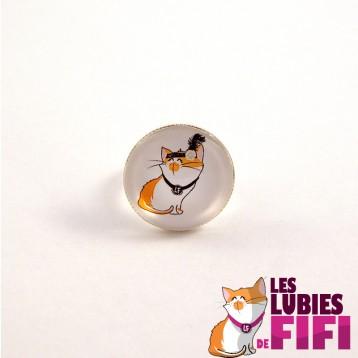 Bague chat : les lubies de fifi coeurs