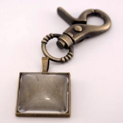 Porte-clé personnalisé bronze