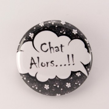 Badge collection chat : chat alors