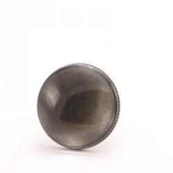 Bague personnalisée ronde bronze 25 mm