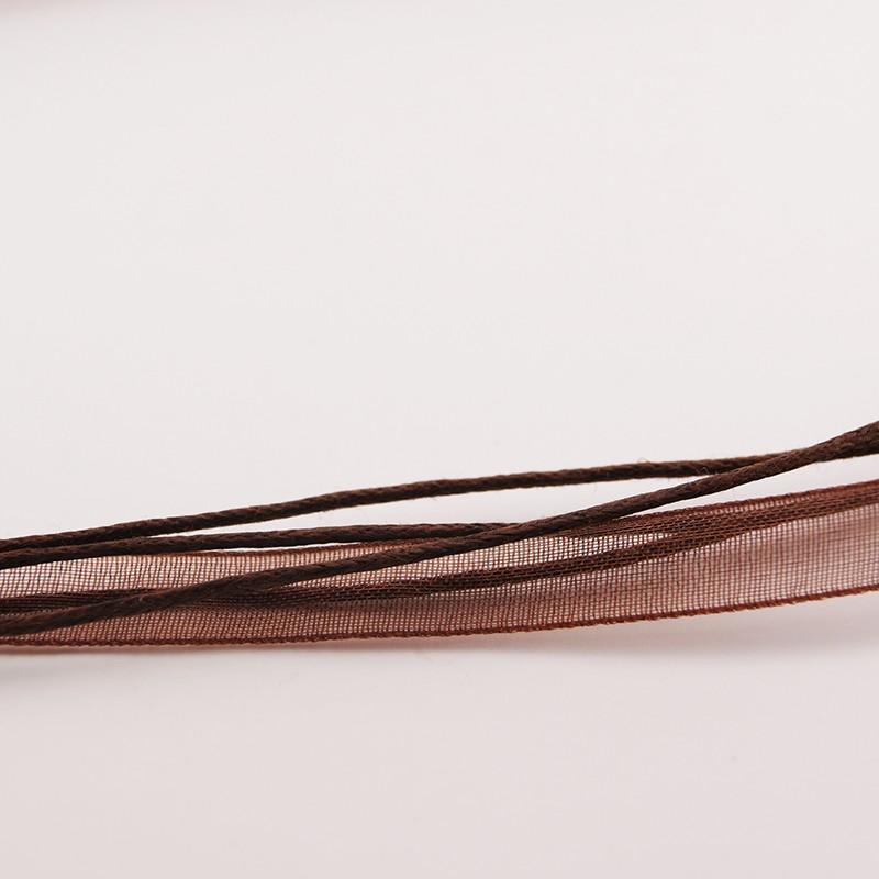 Organza marron